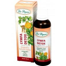 Dr Popov Bylinné kapky Lymfa Detox, 50 ml