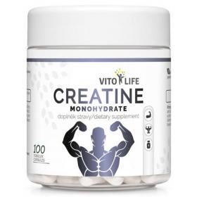 VITO LIFE - Creatine monohydrate 100 cps