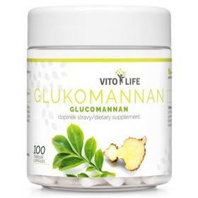 VITO LIFE - Glukomannan 100 cps