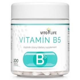 VITO LIFE - Vitamín B5 100 cps