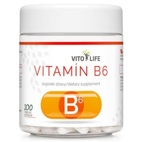 VITO LIFE - Vitamín B6 100 cps
