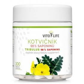 VITO LIFE - Kotvičník zemní 98% saponinů 100 cps.