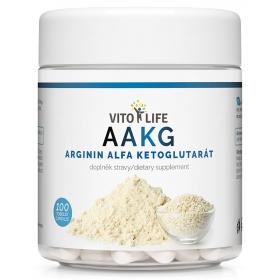 VITO LIFE - AAKG (Arginin-alfa-ketoglutarát) 100 cps
