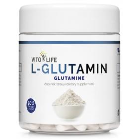 VITO LIFE - L-Glutamin 100 cps