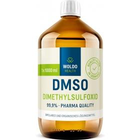 WoldoHealth DMSO dimethylsulfoxid 99,9% 1000 ml