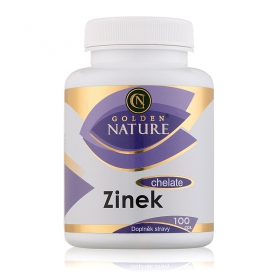 Golden Nature Zinek Chelate 100 cps.