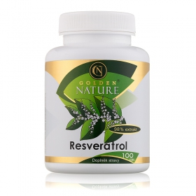 Golden Nature Resveratrol 98% 100 cps.