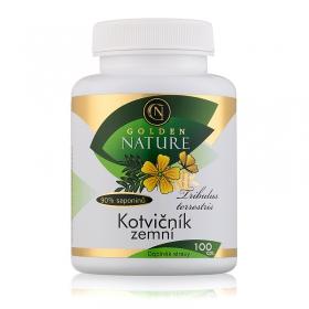 Golden Nature Kotvičník zemní 90% saponinu 100 cps.