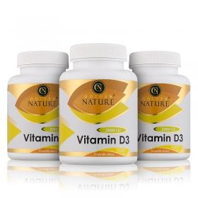 2+1 Golden Nature Vitamin D3 2000 I.U. 300 cps.